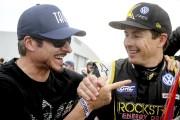 Alex Tagliani et Tanner Foust... (Patrick Woodbury, Le Droit) - image 3.0