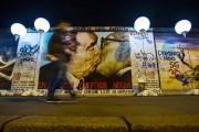 Ce qu'il reste du mur de Berlin.... (Photo Hannibal Hanschke, archives Reuters) - image 5.0