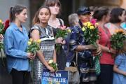 De nombreux Londoniens ont déposé des bouquets de... (AFP) - image 2.0