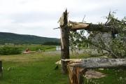 En partant du mont Lac-Vert, la tornade a... (Photo Le Quotidien, Dominique Gobeil) - image 4.0