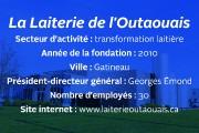 En l'espace de sept ans seulement, La Laiterie de l'Outaouais, projet né d'un... - image 2.0