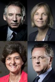 Le ministre français de la Justice François Bayrou,la... (AFP, JOEL SAGET) - image 2.0