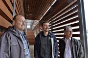 Nicolas Hamel, président de Bois Hamel, Jean-Philippe Côté,... (Le Soleil, Patrice Laroche) - image 2.0