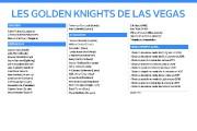 Dans une ville qui ne manque pas d'éclat, les Golden Knights ont pu mettre la... - image 2.0