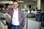 Éric Gareau, président-directeur général de Lulu Software... (PHOTO DAVID BOILY, LA PRESSE) - image 1.0