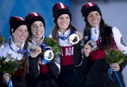 Marianne Saint-Gelais, Valérie Maltais, Jessica Hewitt et Marie-Ève... (Archives Presse canadienne) - image 3.0
