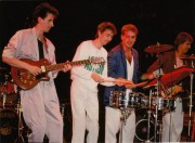 Cusson, Saint-Jacques, Brochu et Caron sur la scène... (Photo fournie par le groupe) - image 3.0