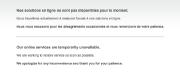 Les services en ligne de Desjardins sont paralysés... (Capture d'écran provenant du site) - image 1.0
