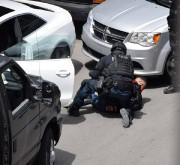 Un des suspects appréhendés mercredi... (Photo courtoisie) - image 1.0