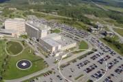 Le nouveau pavillon de l'Hôpital Fleurimont sera situé... (Maquette fournie par le CIUSSS de l'Estrie-CHUS) - image 1.0