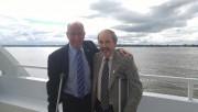 Yves Lévesque, maire de Trois-Rivières et Jean-Guy Dubois,... (Albert Brunelle) - image 1.0