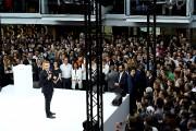 Le président français, Emmanuel Macron, était sur place... (AFP, Bertrand Guay) - image 2.0
