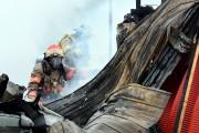Le feu est survenu à 10h45 ce matin.... (Photo Le Quotidien, Rocket Lavoie) - image 1.1