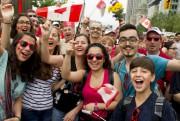 Les Canadiens de toutes les origines ont célébré... (Martin Roy, Le Droit) - image 1.0