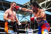 Manny Pacquiao était donné favori face à Jeff... (PHOTO PATRICK HAMILTON, AGENCE FRANCE-PRESSE) - image 1.0
