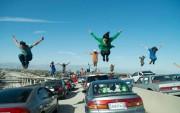 Scène d'ouverture de La La Land, qui s'amorce... (photo fournie parlionsgate) - image 1.1