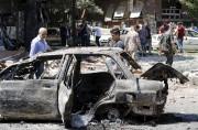 C'est l'explosion de cette voiture piégée qui a... (AFP, Louai Beshara) - image 2.0