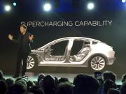 Elon Musk avait dévoilé le «Model 3» de... (AP, Justin Pritchard) - image 2.0