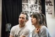 Mathieu Quesnel et Anne-Élisabeth Bossé en répétition pourMolière,... (Photo Jean-François Hamelin, fournie par la production) - image 2.0