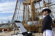 L'Amerigo Vespucci est le voilier d'entraînement de la... (Le Soleil, Pascal Ratthé) - image 3.0