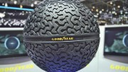 Le pneu sphérique et rechargeable de Goodyear... (Photo fournie par le fabricant) - image 3.0