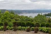 Vue sur la rivière Saguenay et les monts... (Mélissa Bradette) - image 1.0