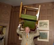 Jean Chrétien a retrouvé la chaise qu'il occupait... (Sylvain Mayer) - image 5.0
