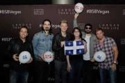 Caroline Parent en compagnie des Backstreet Boys à... (Fournie par Caroline Parent) - image 2.0