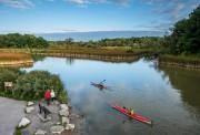 Kayaks sur la rivire Rouge, parc urbain national... (Photo Scott Munn, fournie par Parcs Canada) - image 2.0