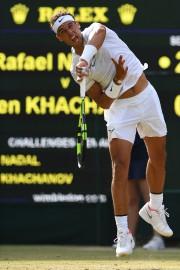Rafael Nadala signé une 10e victoire d'affilée sans... (Photo Glyn Kirk, AFP) - image 1.0