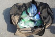 L'un des sacs contenant de la cocaïne découverts... (Photo La Presse) - image 1.0