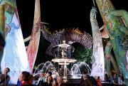 Les Plasticiens volants à la fontaine de Tourny... (Le Soleil, Caroline Grégoire) - image 3.0