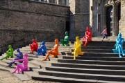 Les gens de couleur, qui déambulent dans le... (Photo fournie par Ilotopie) - image 2.0