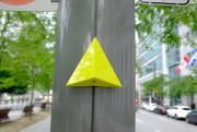 Les triangles jaunes indiquent la direction de la... (Photo Martin Chamberland, La Presse) - image 3.0