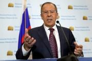 Le ministre russe des Affaires étrangères Sergueï Lavrov.... (Photo Yuri Gripas, REUTERS) - image 1.0