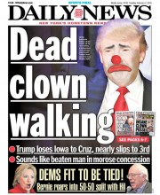 Page couverture du New York Daily News de février 2016... (Image tirée du site du New York Daily News) - image 1.0