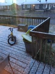 Il a neigé sur Schefferville dans la nuit... (Facebook) - image 2.0