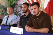 De gauche à droite : Spencer Stone, Anthony... (AFP) - image 2.0