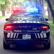 Tous les véhicules de patrouille de la Sûreté... (Photo tirée de Facebook) - image 1.0