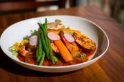 Le plat de jambalaya et crevettes du restaurant... (Photo Olivier Jean, La Presse) - image 3.0