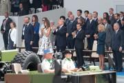 Les deux présidents, côte à côte dans la... (PHOTO Joel SAGET, AFP) - image 3.0