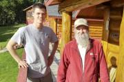 Deux générations de guides de pêche, Michaël Mongeau,... (Photo Le Progrès, Roger Blackburn) - image 2.1
