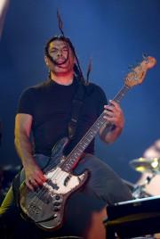 Le bassiste Robert Trujillo... (Le Soleil, Erick Labbé) - image 1.0