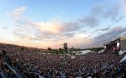Les Plaines avant l'arrivée sur scène de Metallica... (Le Soleil, Erick Labbé) - image 1.0
