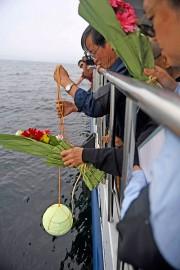 La dispersion des cendres de Liu Xiaoboimplique qu'il... (PHOTO AP/FOURNIE PAR LE BUREAU D'INFORMATION DE SHENYANG) - image 1.0
