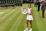 Garbine Muguruza a mis la main sur un... (PHOTO TONY O'BRIEN, REUTERS) - image 1.0