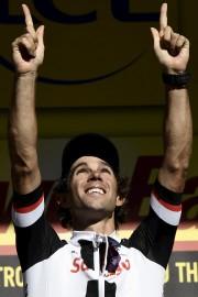 Le vainqueur de la 14e étape, l'Australien Michael... (AFP, Jeff Pachoud) - image 3.0