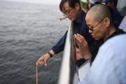 La veuve du Liu Xiaobo, Liu Xia, prie... (AFP) - image 2.0
