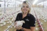 La coordonnatrice de la production aviaire et porcine... (Photo Le Quotidien, Gimmy Desbiens) - image 2.1