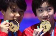 Chang Yani et Shi Tingmao.... (REUTERS) - image 2.0